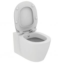 Стенна тоалетна чиния IDEAL STANDARD CONNECT, с бидетна арматура и скрито присъединяване, със седалка по избор