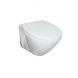 Стенна тоалетна чиния ROCA FAYANS VIVA Happy, със седалка по избор