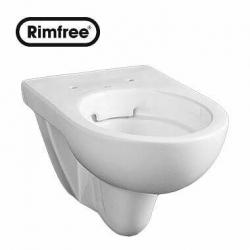 Стенна тоалетна чиния KOLO NOVA PRO Rimfree, със седалка по избор