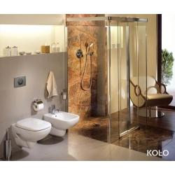 Стенна тоалетна чиния KOLO STYLE Rimfree, със седалка по избор