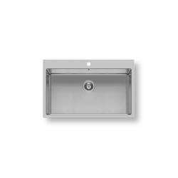 Кухненска мивка PYRAMIS ISTROS (74X40) 1B от неръждаема стомана