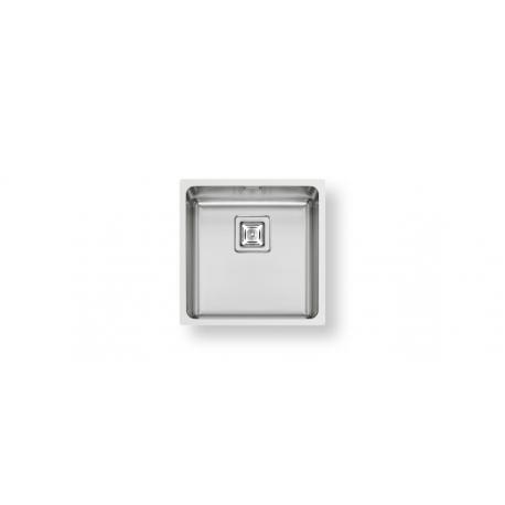 Кухненска мивка PYRAMIS LUME (40X40) 1B от неръждаема стомана, за монтаж на равно с плота