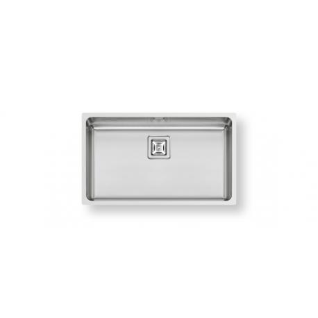 Кухненска мивка PYRAMIS LUME (70X40) 1B от неръждаема стомана, за монтаж на равно с плота