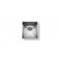 Кухненска мивка PYRAMIS  TETRAGON (34X40) 1B от неръждаема стоман, за монтаж под плота