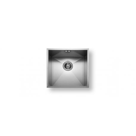 Кухненска мивка PYRAMIS TETRAGON (40X40) 1B от неръждаема стомана, за монтаж под плот