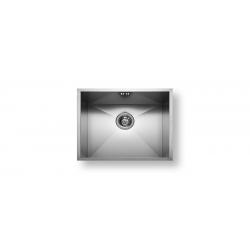 Кухненска мивка PYRAMIS  TETRAGON (50X40) 1B от неръждаема стомана, за монтаж под плот