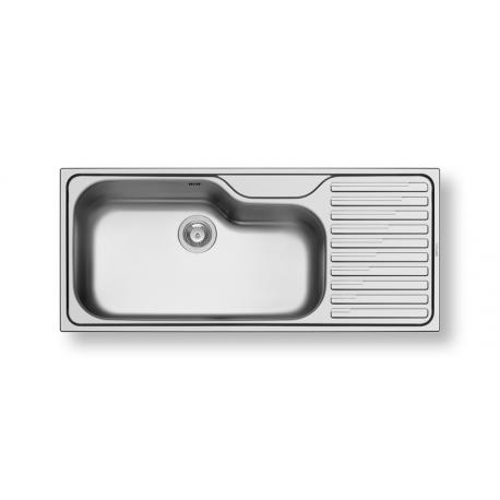 Кухненска мивка PYRAMIS TITAN (116X50) 1B 1D от неръждаема стомана