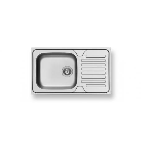 Кухненска мивка PYRAMIS DORIAN (86X50) 1B 1D от неръждаема стомана