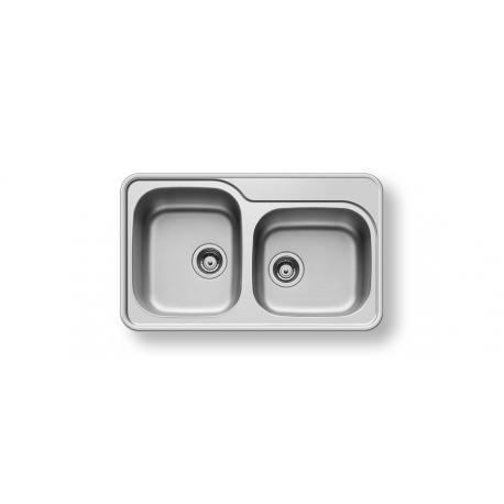 Кухненска мивка PYRAMIS SPACE MINI (80X48) 2B от неръждаема стомана
