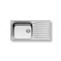 Кухненска мивка PYRAMIS AMALTIA PLUS (100X50) 1B 1D от неръждаема стомана