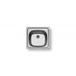 Кухненска мивка PYRAMIS BASIC E33 (46,5X43,5) от неръждаема стомана