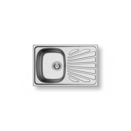 Кухненска мивка PYRAMIS CRETA 1B 1D MARGARITA от неръждаема стомана