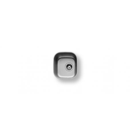 Кухненска мивка PYRAMIS IRIS (33,5X36,5) 1B от неръждаема стомана, за монтаж под плот