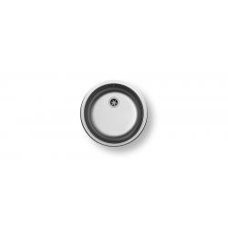Кухненска мивка PYRAMIS CR от неръждаема стомана, кръгла