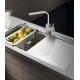 Кухненска мивка PYRAMIS OLYNTHOS (100X52) 1B 1D от неръждаема стомана