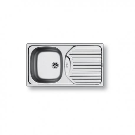 Кухненска мивка PYRAMIS BASIC ET78 (78X43,5) SEMIFLAT от неръждаема стомана