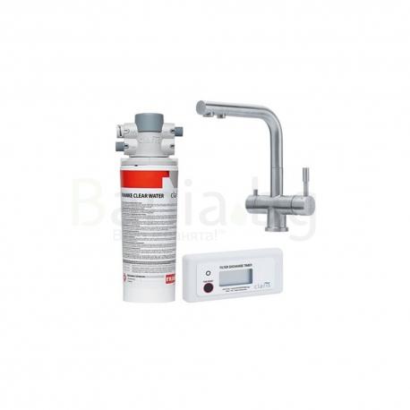 Система за пречистване на питейна вода FRANKE Clear Water със смесител Atlas Clear Inox