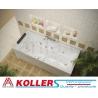 Хидромасажна вана БЕРЛИН ЛАЙН KOLLER Inovations, правоъгълна, различни размери
