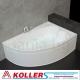 Хидромасажна вана ОНИКС 160х110 см. KOLLER Inovations, правоъгълна, за двама
