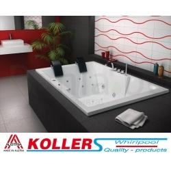 Хидромасажна вана АТИНА 180х120 см. KOLLER Inovations, правоъгълна, за двама