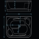 Хидромасажна вана ХАВАНА 190х120 см. KOLLER Inovations, правоъгълна, за двама