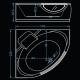 Хидромасажна вана АМСТЕРДАМ 145х145 см. KOLLER Inovations, правоъгълна, за двама