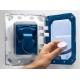 Комплект GROHE 5v1/ROCA FAYANS MIRA, тоалетна чиния с капак, структура за вграждане GROHE с бутон по избор