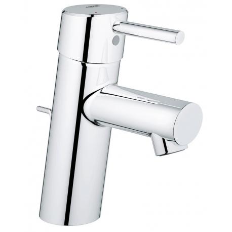 Смесител за мивка GROHE Concetto EcoJoy®, с изпразнител