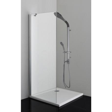 Параван (стена) за душ кабина SANOFLEX, неподвижен, различни размери