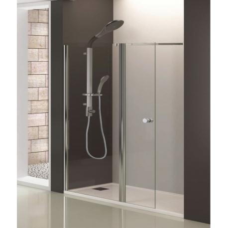 Параван за душ кабина SANOFLEX MT, стена и врата на панти, различни размери