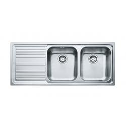 Кухненска мивка FRANKE LINEA LLX 621 от неръждаема стомана, различен финиш