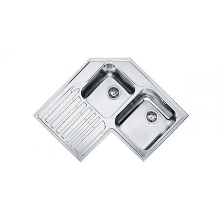 Кухненска мивка FRANKE ANGOLO STX 621-E, ъглова, от неръждаема стомана