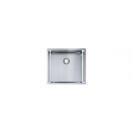 Кухненска мивка FRANKE BOX BXX 110/210-45 от неръждаема стомана, монтаж под плот