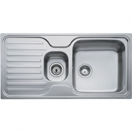 Кухненска мивка TEKA Super Bowl 1 1/2С 1Е от неръждаема стомана, различен финиш