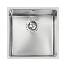 Кухненска мивка TEKA BE Linea 400/400 от неръждаема стомана, монтаж под плот
