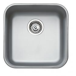 Кухненска мивка TEKA BE 40.40 (25) от неръждаема стомана, монтаж под плот