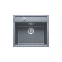 Кухненска мивка TEKA Menorca 60 S-TG от синтетичен гранит, различни цветове, с автоматичен сифон