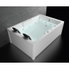 Хидромасажна вана АТИНА 180х120 см. ПРЕМИУМ ФЛАТ, правоъгълна, за двама