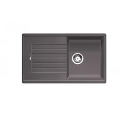 ПРОМО комплект мивка BLANCO ZIA 5 S SILGRANIT ™- скалисто сиво+ дозатор TIGA