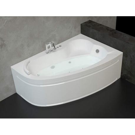Хидромасажна вана ОНИКС ЕКСКЛУЗИВ ФЛАТ, 150х100 см., ъглова, с нагревател