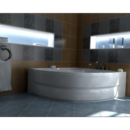 Хидромасажна вана НИЦА ЕКСКЛУЗИВ ФЛАТ, ъглова, за двама, различни размери, с нагревател
