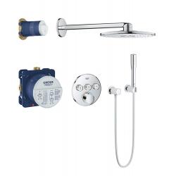 Комплект за душ GROHE SmartControl Perfect, за вграждане, управление с бутони
