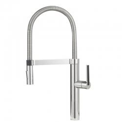 Смесител за кухня BLANCO CULINA S, хром, висок, с изтеглящ се душ с две функции