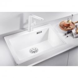 Мивка за кухня BLANCO  PLEON 6 SILGRANIT ™- цвят Бял, от синтетичен гранит