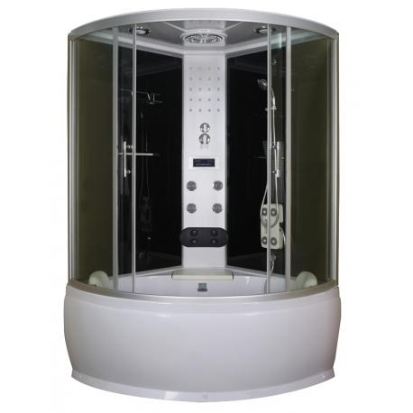 Хидромасажна душ кабина с акрилна вана TR 20/25, 120х120/130х130 см., ъглова, затворена