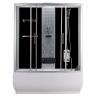 Хидромасажна душ кабина с акрилна вана TR 150/170, 150х85/170х85 см., правоъгълна, затворена