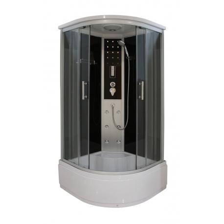 Хидромасажна душ кабина VITA CL97, 90х90, ъглова, затворена, с високо корито