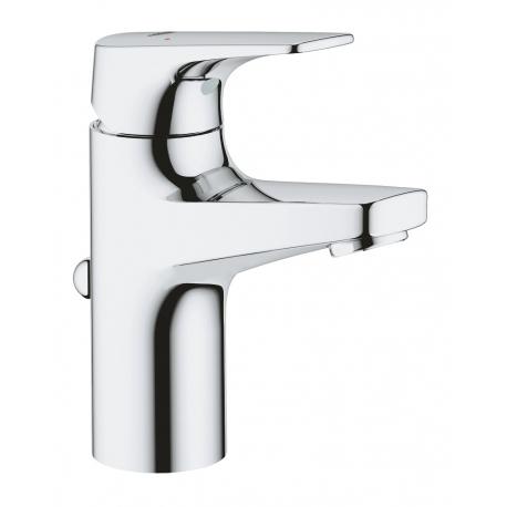 Смесител за мивка GROHE Bauflow, S-size, с изпразнител