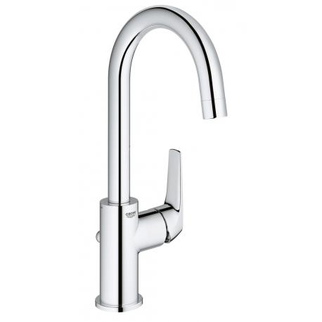 Смесител за мивка GROHE Bauflow, L-size, с изпразнител