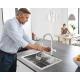 Система за пречистване на питейна вода GROHE Blue Home, за кухня, с модул за изстудяване и газиране на вода, смесител с C-чучур